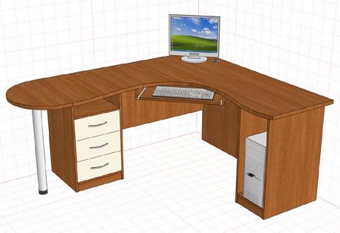 Компьютерные столы в саратове. мебель школьная компьютерная .